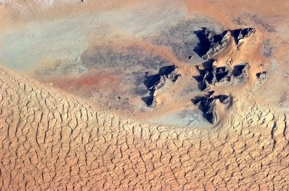 Саудовская Аравия из космоса
