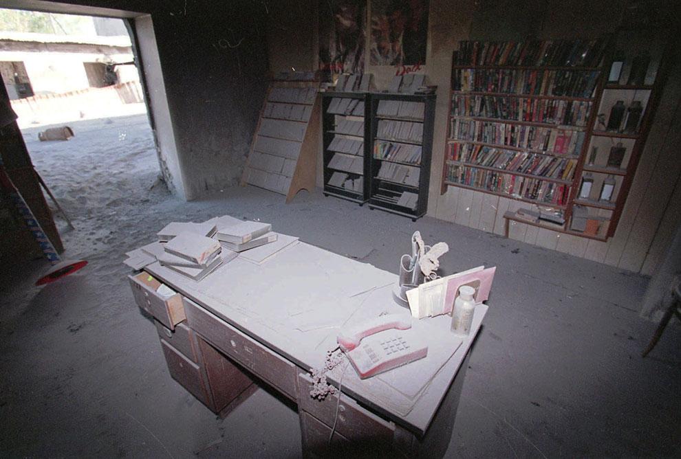 Магазин по продаже видеокассет, столица острова Плимут