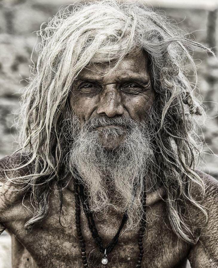 Паломник из Варанаси, Индия