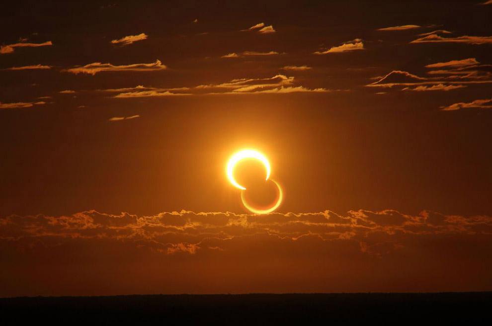«Кольцо огня» в Австралии