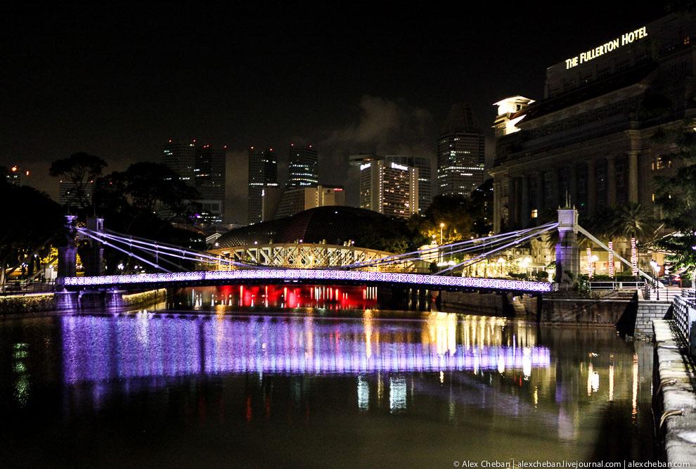 Еще несколько видов ночного Сингапура