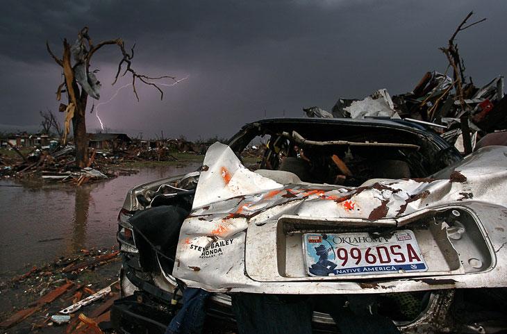 Торнадо в Оклахоме: несколько дней спустя