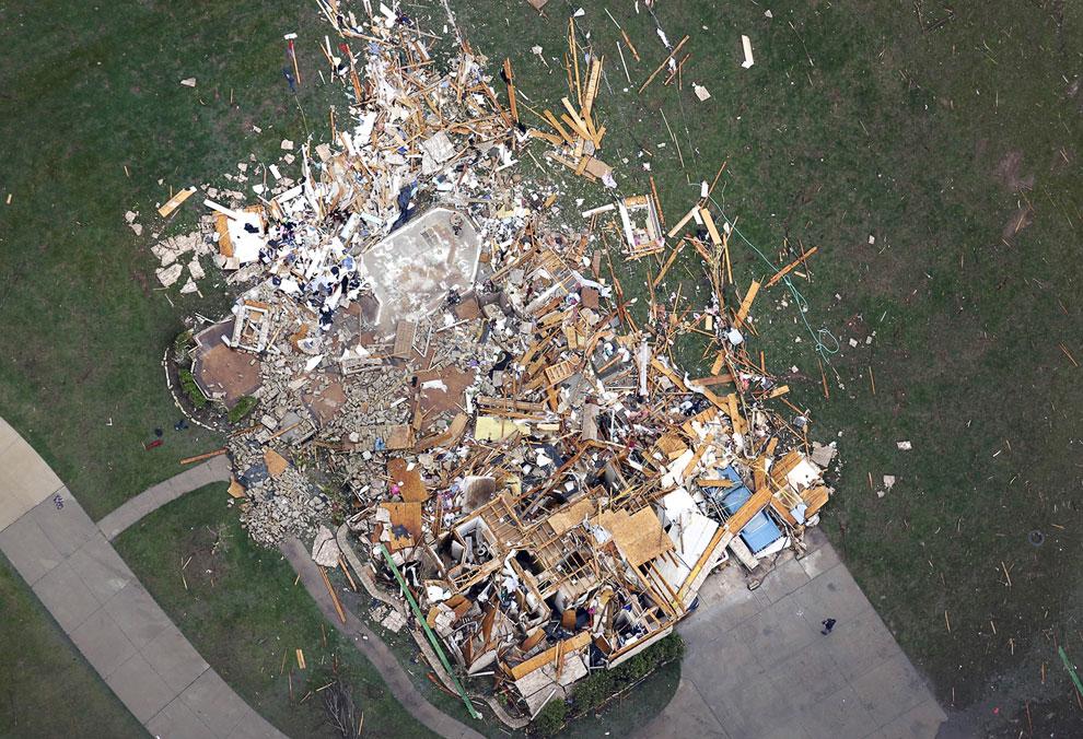 Торнадо в Оклахоме: на следующий день