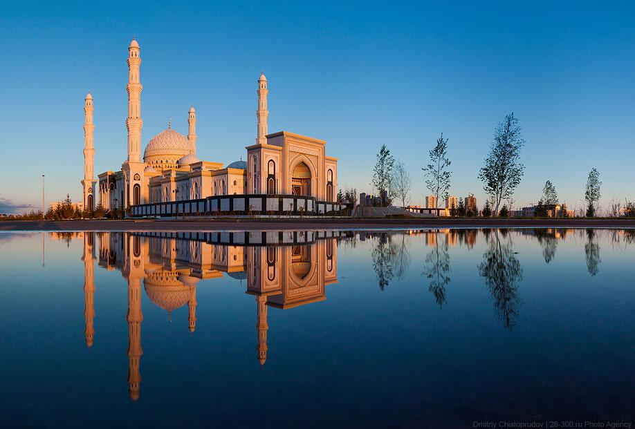 Крупнейшая мечеть в Центральной Азии «Хазрет Султан»