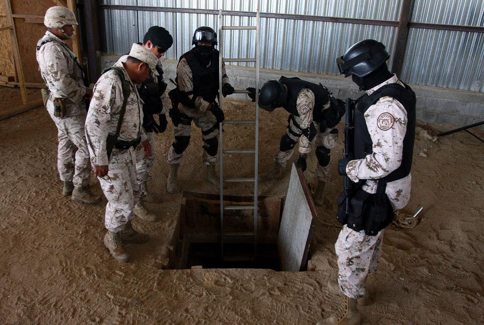 Один из способов доставки наркотиков в США — вырыть подземный тоннель