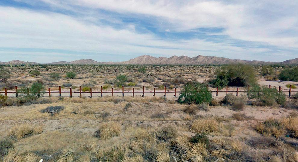 Район Национального парка «Органный кактус»