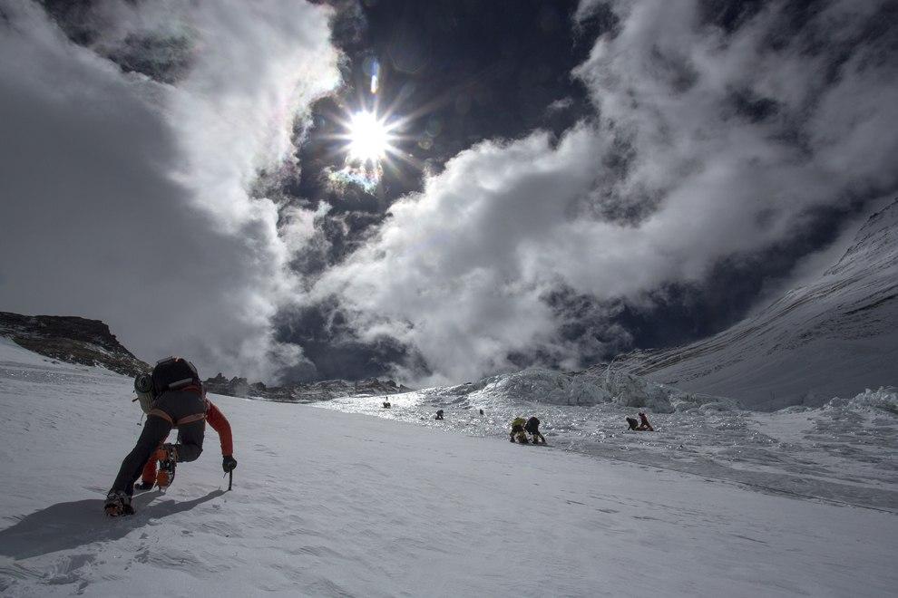 На склонах Эвереста