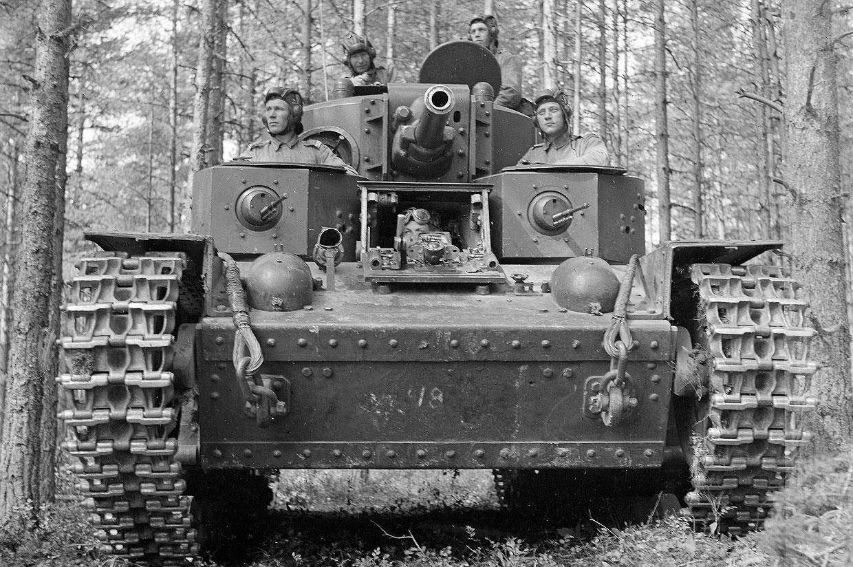 Финская танковый экипаж, 8 июля 1941 года