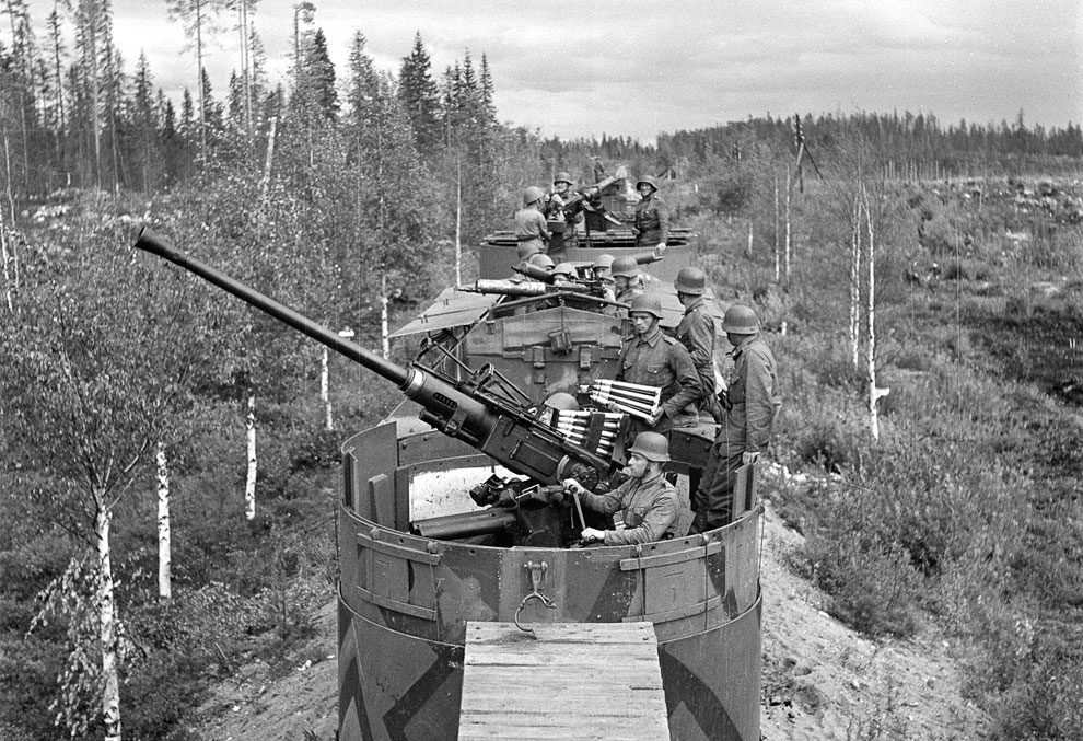 Финский бронепоезд