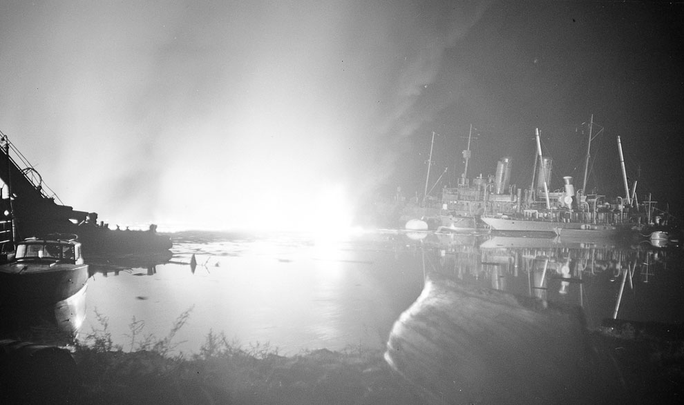 Взрыв на военном объекте в порту в Хельсинки