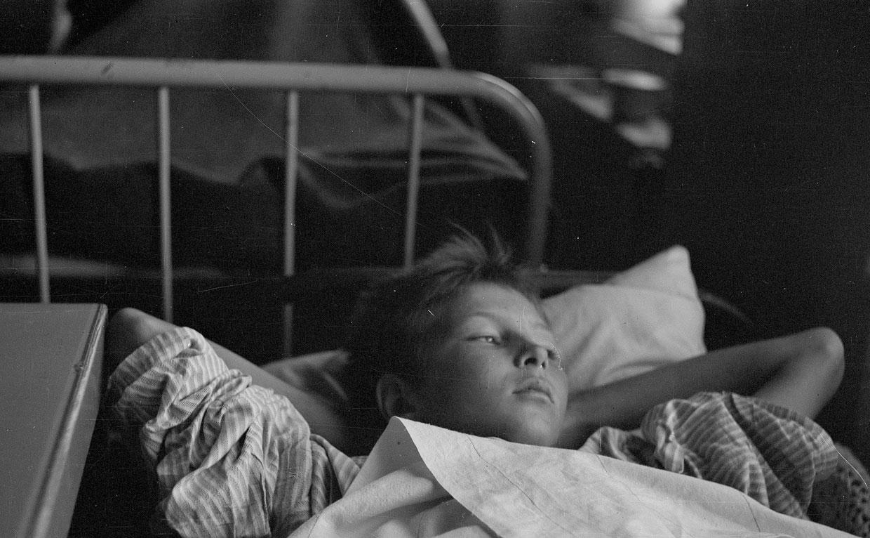 Тринадцатилетний мальчик в госпитале