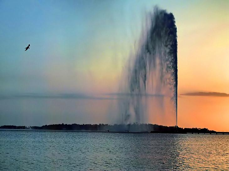 Фонтан короля Фахда (Джидда) — самый высокий