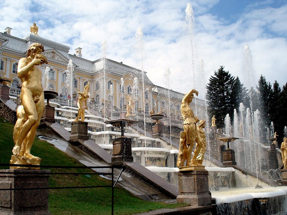 Фонтаны Петергофа (Санкт-Петербург) — самые роскошные