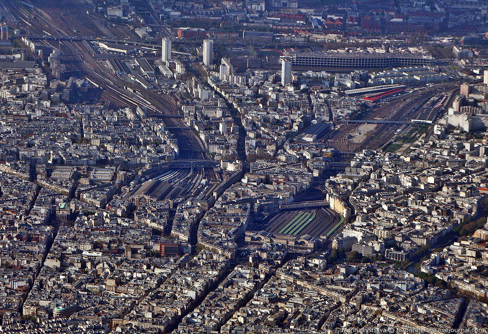 Северный и Восточный вокзалы Парижа