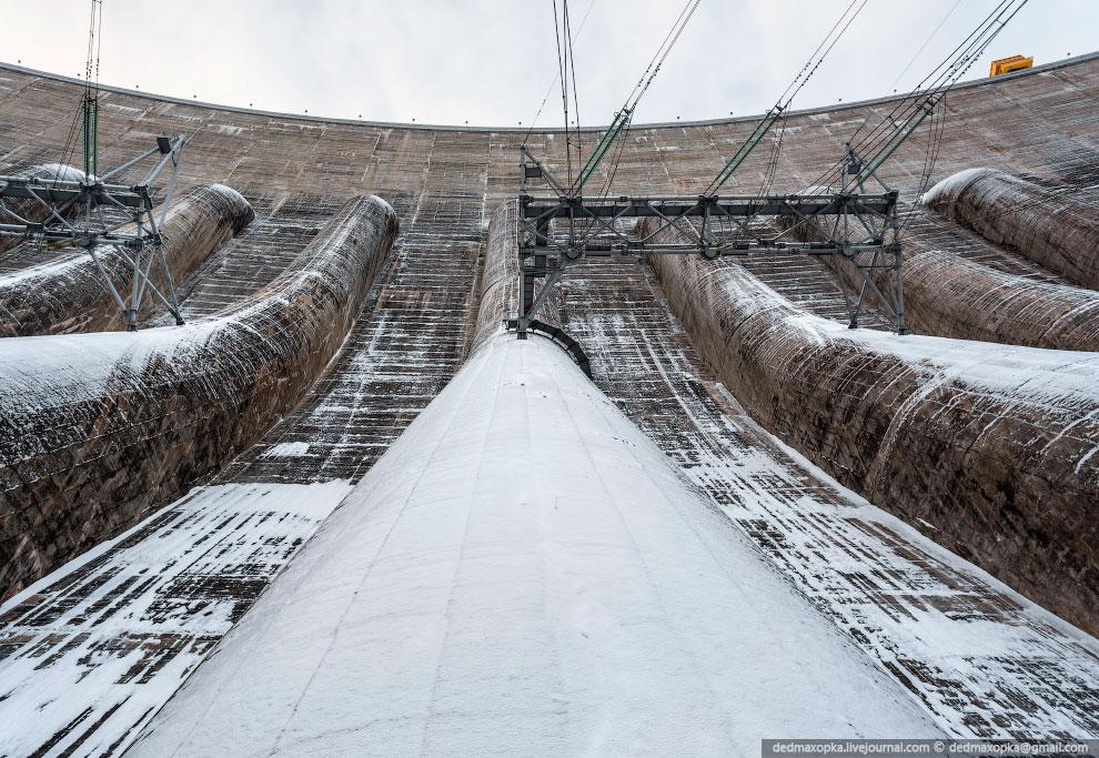 Турбинные водоводы Саяно-Шушенской ГЭС