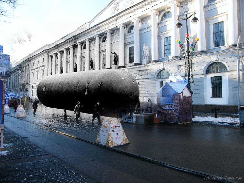 Призраки блокадного Ленинграда