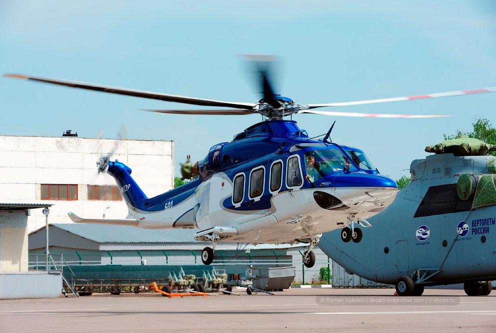 Экскурсия на вертолетный завод им. Миля