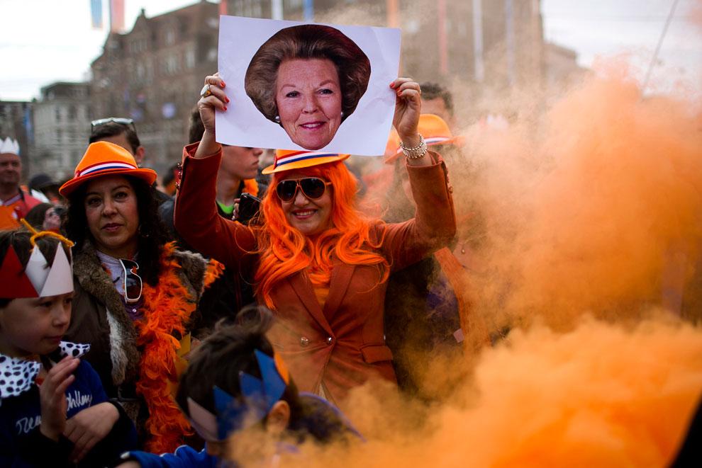 Абсолютное большинство голландцев заботятся и поддерживают свою монархию