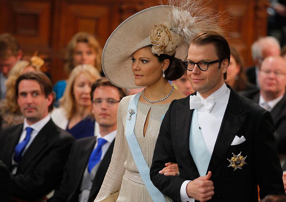 Принцесса Швеции Виктория и принц Даниэль Вестлинг