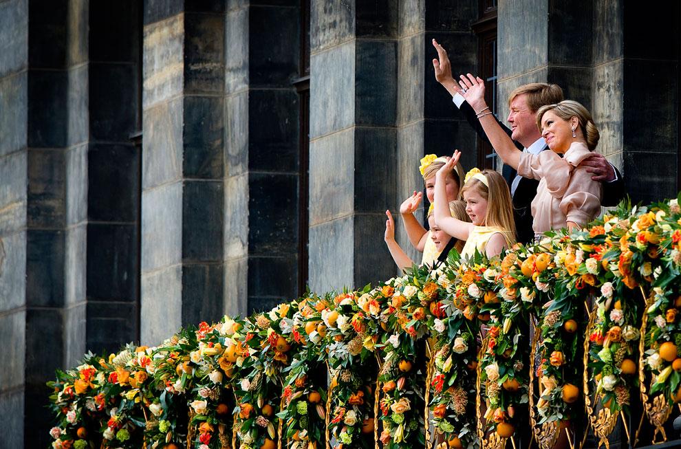 Новый король Нидерландов, королева Максима