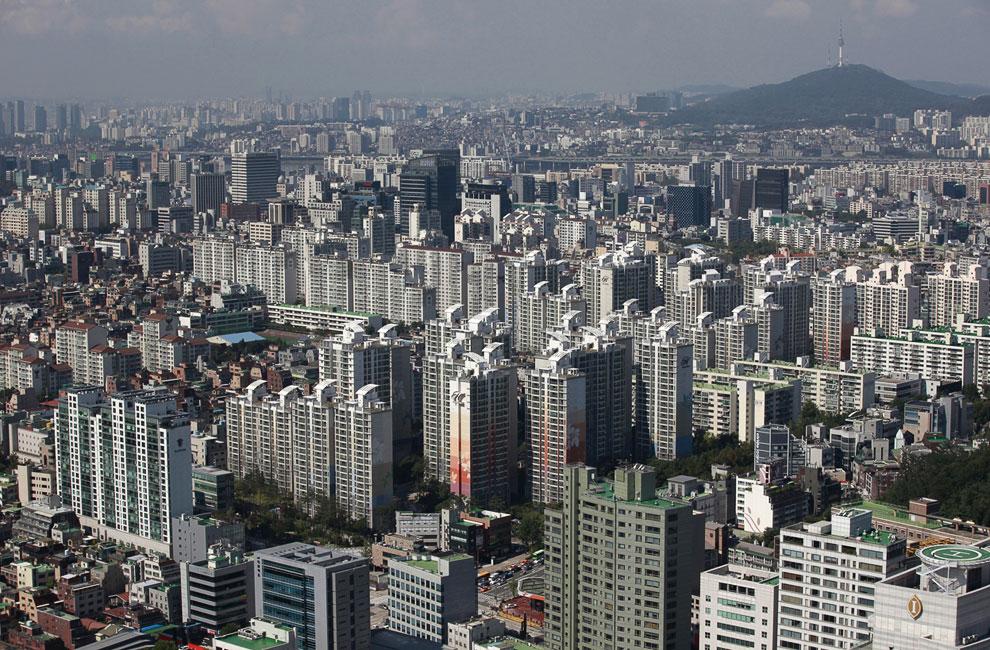Район Кангнам в Сеуле — самый дорогой и престижный район города