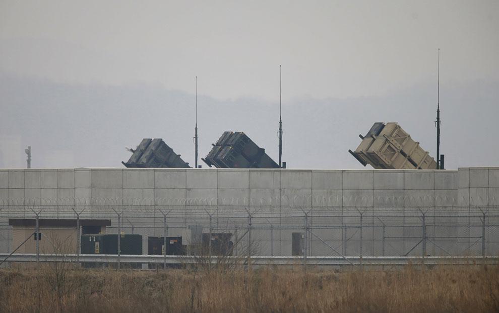 Американский зенитный ракетный комплекс «Пэтриот», используемый армией США и их союзниками