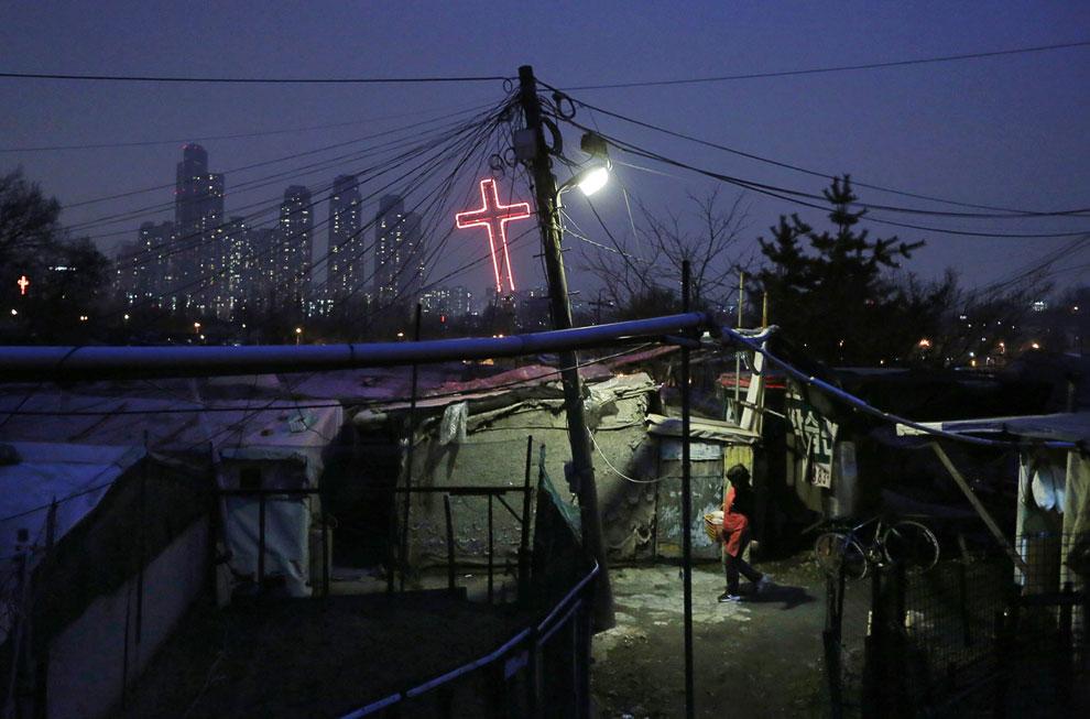 Как и любой мегаполис, Сеул — город контрастов
