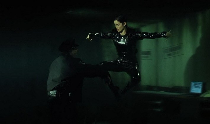 Как делали спецэффекты в фильме «Матрица»