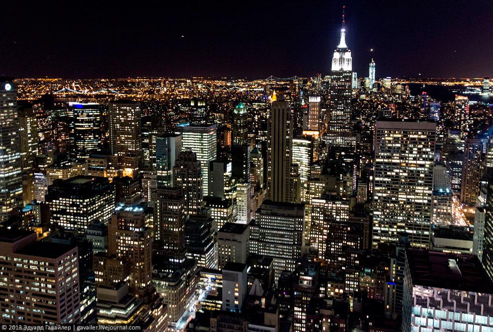 Обзорные виды Нью-Йорка