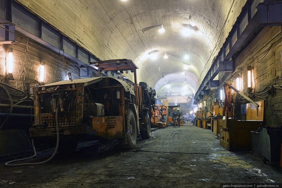 Цех по ремонту и обслуживанию подземной горной техники