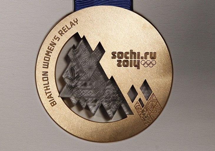 Медали олимпийских игр 2014 года