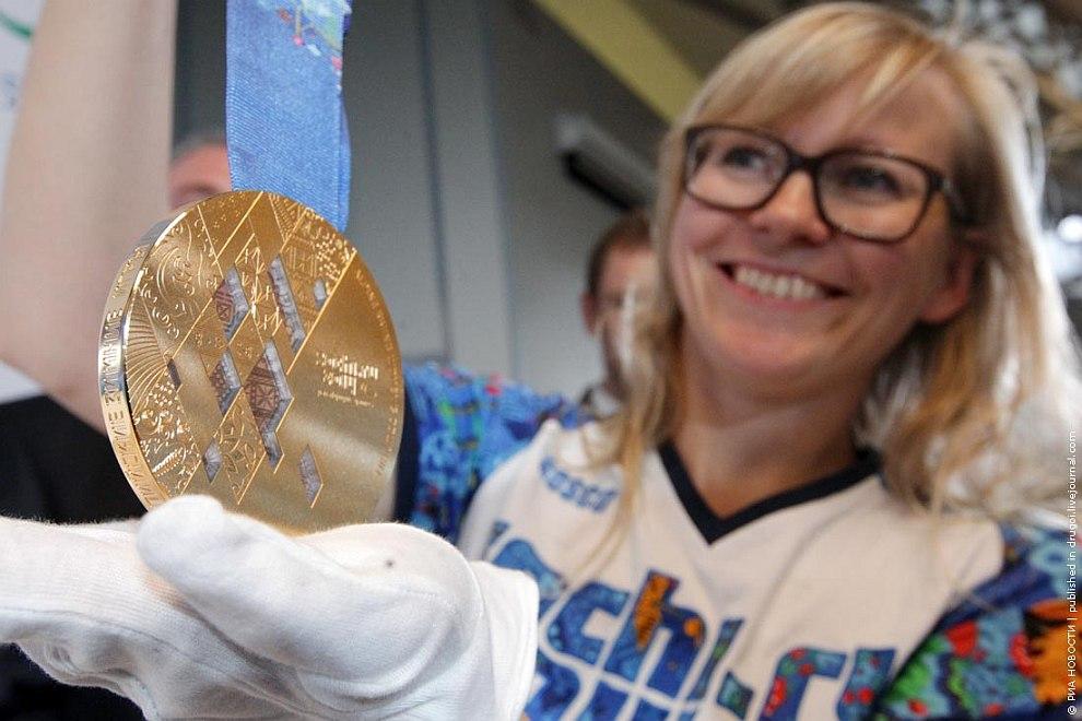 Вот такие медали получат победители Олимпиады