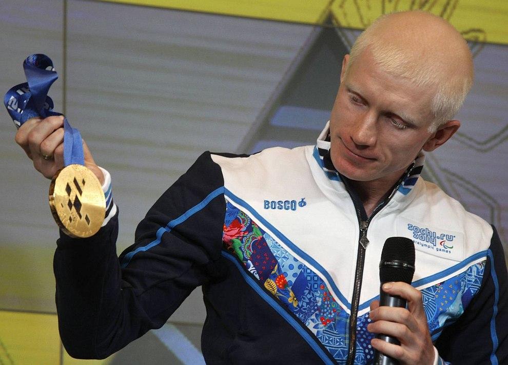 Федор Триколич дважды чемпион и серебряный призер Паралимпийских игр 2012 в Лондоне