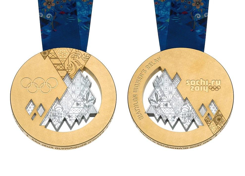 Золотые медали Сочи 2014