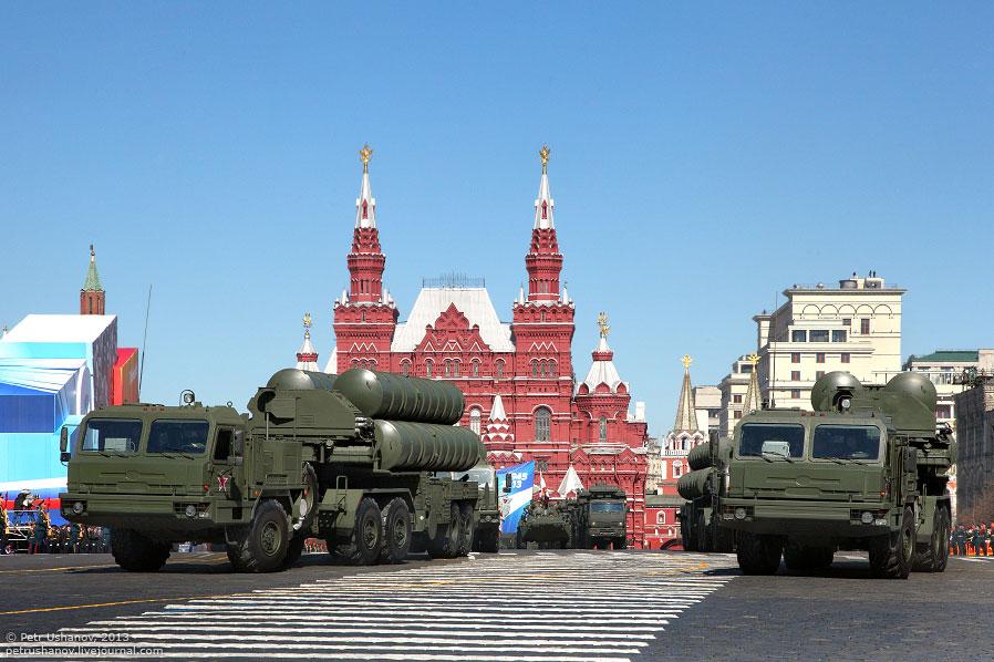 Зенитная ракетная система С-400 «Триумф»