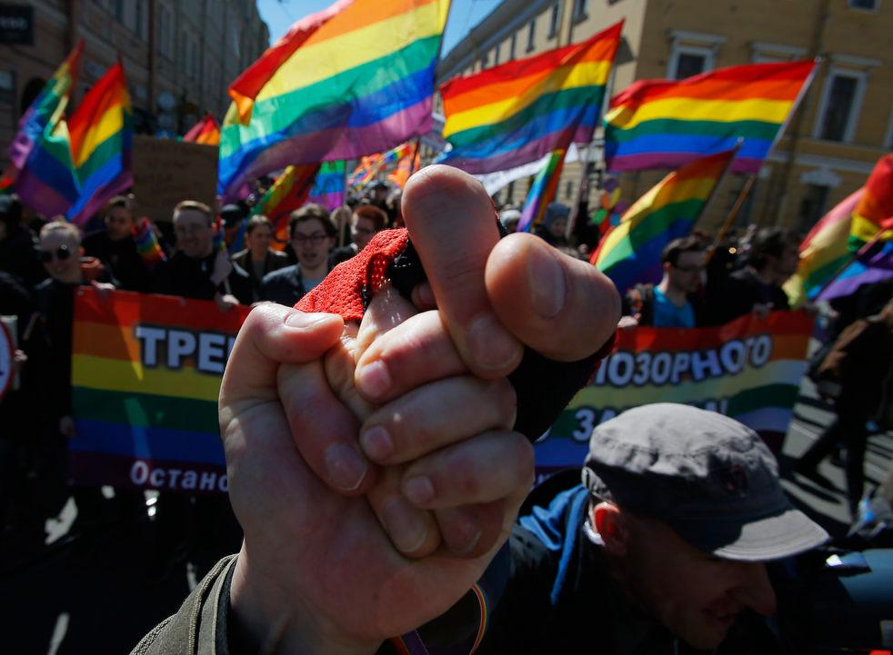 Также на Невском проспекте прошел первый разрешенный гей-парад