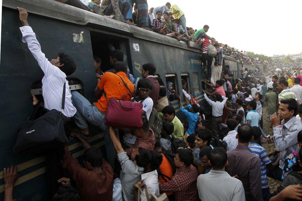 Особенности национальных перевозок в Дакке, Бангладеш