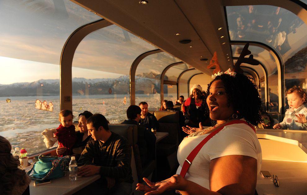 Праздник железнодорожного транспорта на Аляске