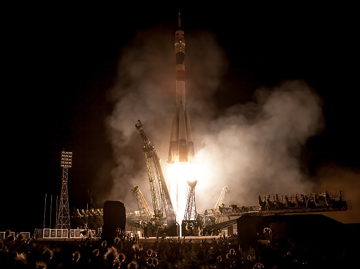 Expedition 36 Launch