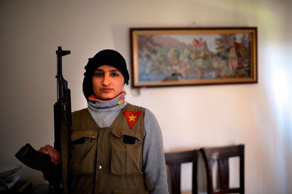 Бравая солдатка, Алеппо