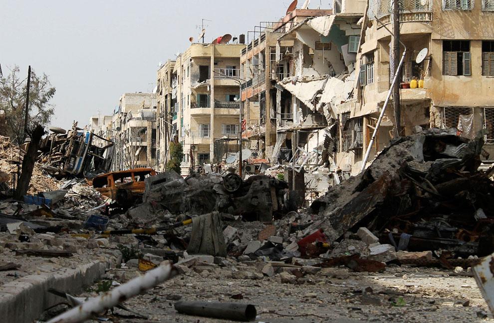 Улицы города Алеппо
