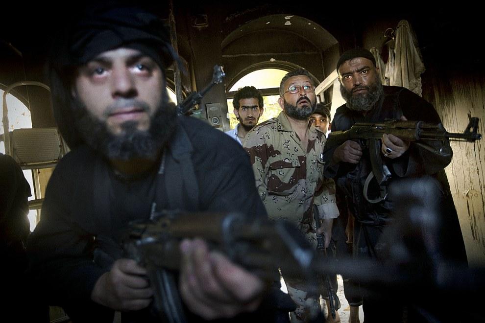 Колоритные сирийские мятежники