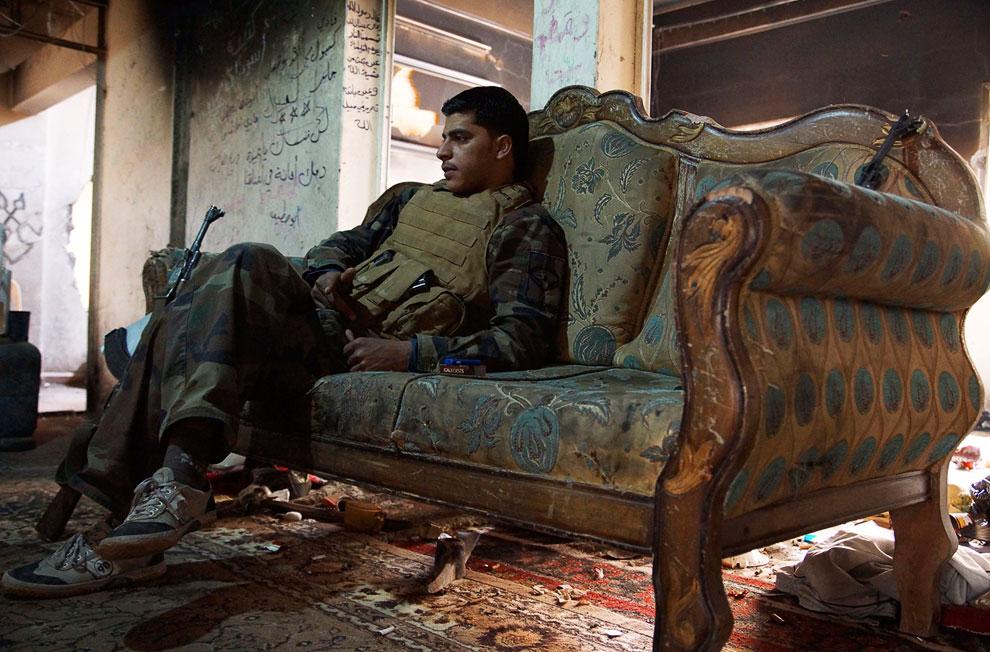 А тем временем в Сирии продолжается гражданская война