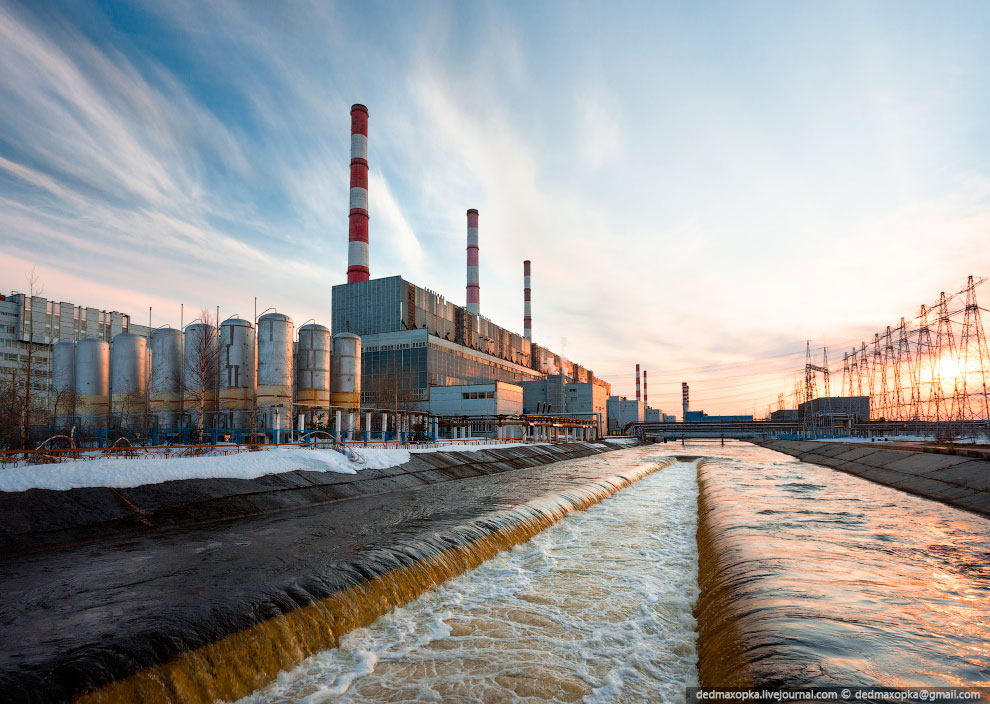 Самая мощная ТЭЦ в России