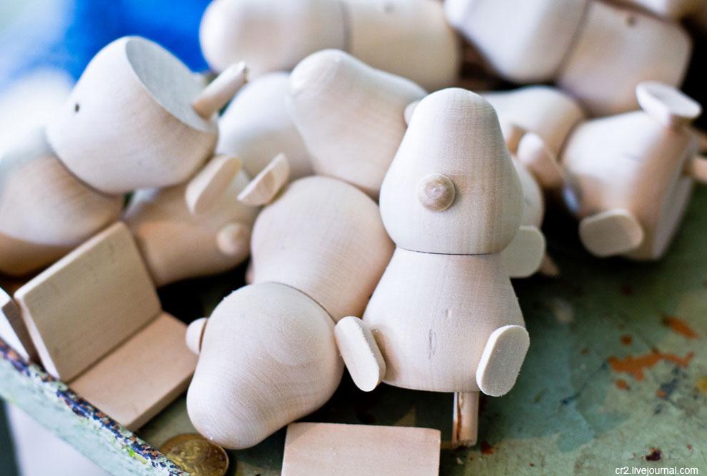 Как сделать богородскую игрушку из дерева