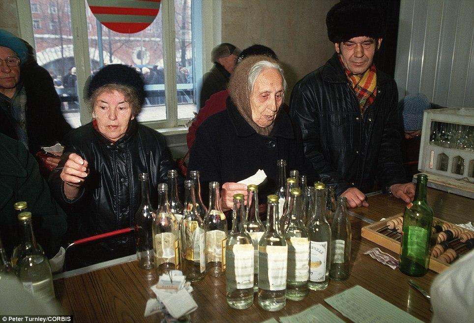 Водка в СССР была жидкой валютой