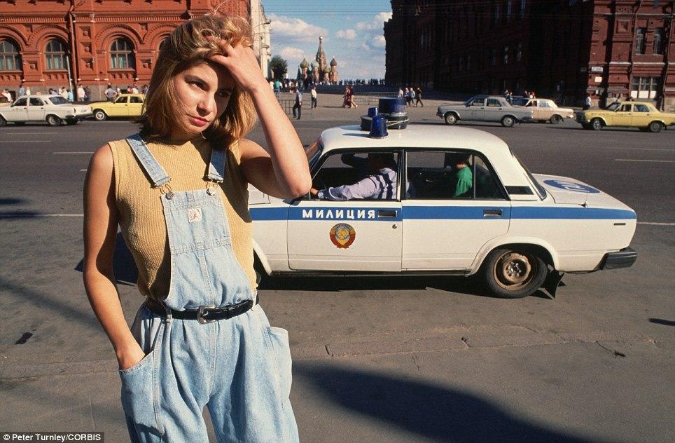 У Красной площади, 1991 год
