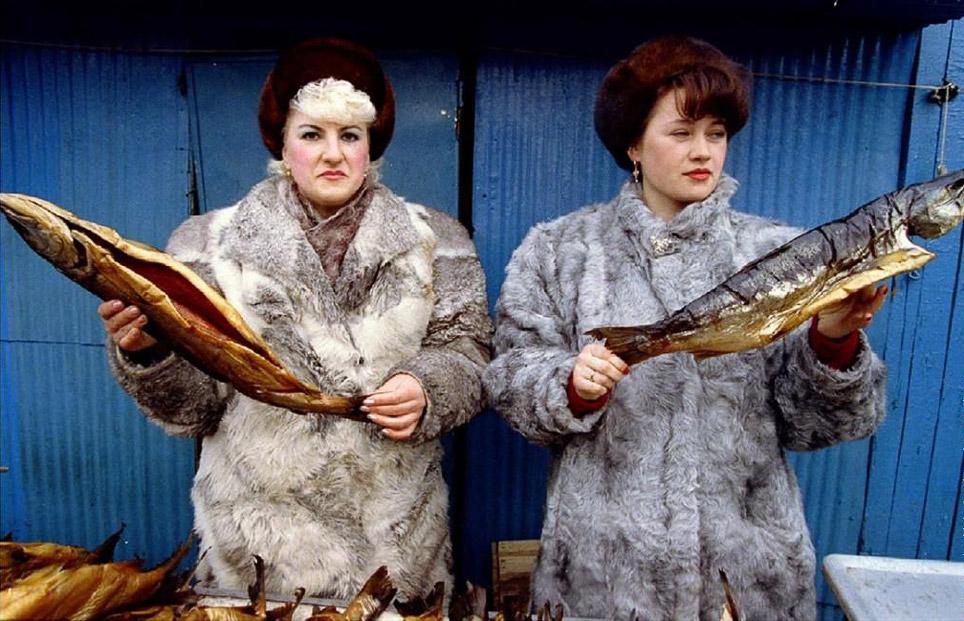 Рыбный рынок в Петропавловске-Камчатском