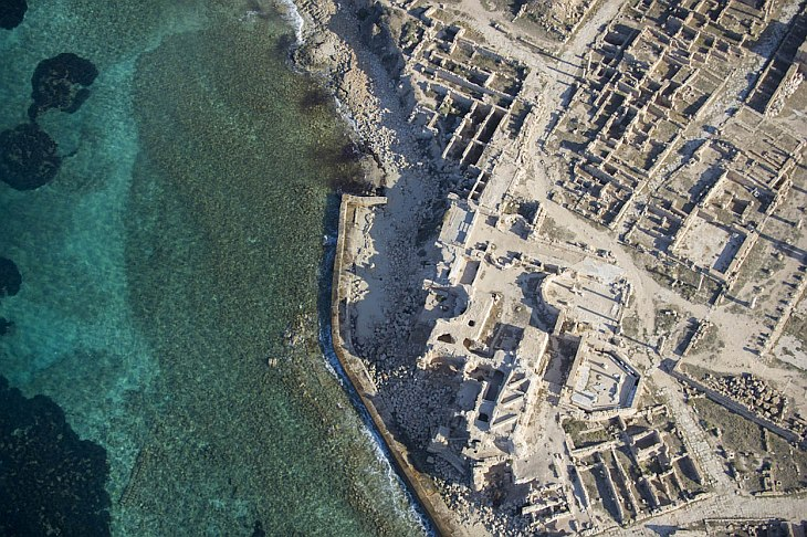Руины Сабрата — древнего города в области СиртикаРуины Сабрата — древнего города в области Сиртика