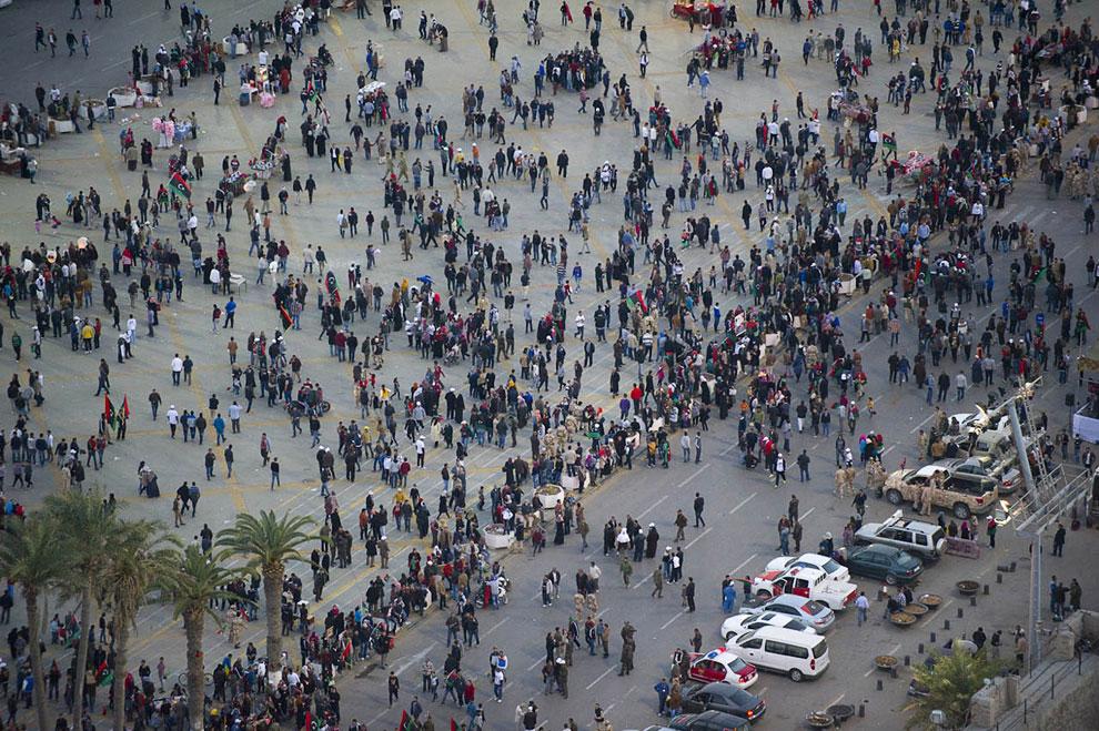Площадь Мучеников или Зеленая площадь — достопримечательность и главная площадь города Триполи, Ливия